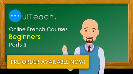 French for beginners - Part 2 - 6 lessons in 6 days
