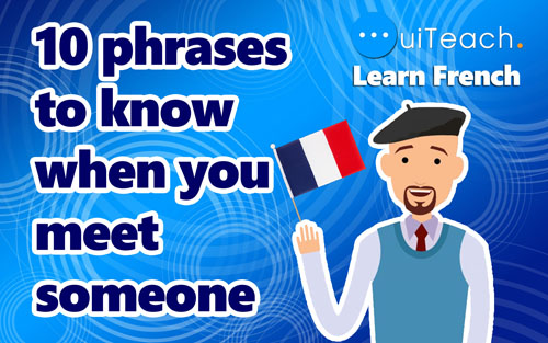 10 phrases to  know when you meet someone