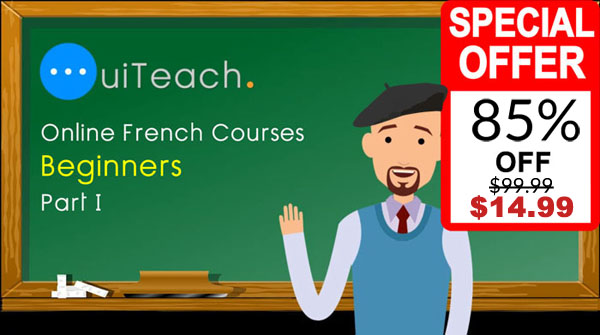 French for beginners - Part 1 - 6 lessons in 6 days